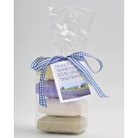 4 GIFT WRAPPED 100g SOAPS